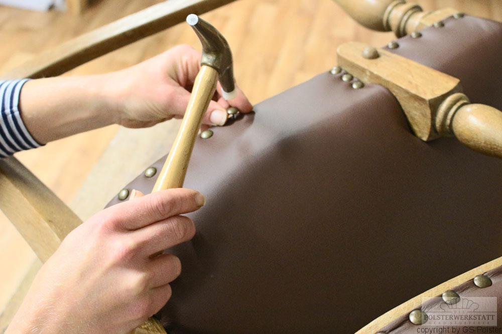 klassische Polsterwerkstatt GS-Polster Traditionelles Polsterhandwerk