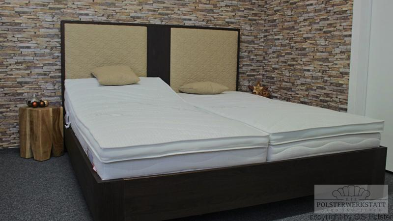 massivholz boxspringbett gs polster. Black Bedroom Furniture Sets. Home Design Ideas